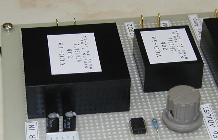 VCO-1AとVCO-5Aの比較